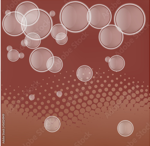 technology abstract background - vector illustration