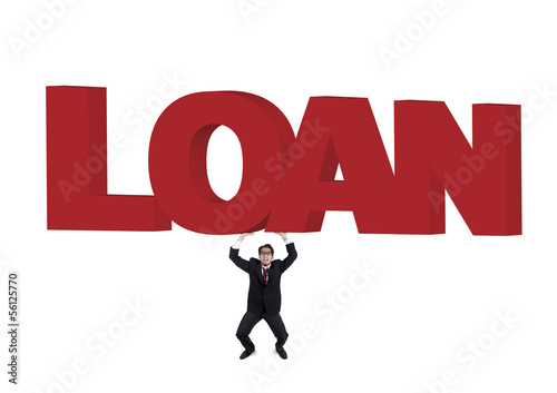 Businessman need loan asking for help