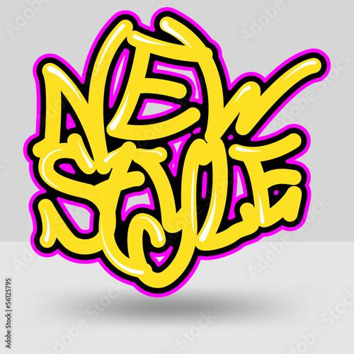 new style graffiti