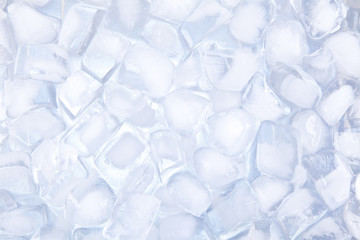 Ice cubes backgound