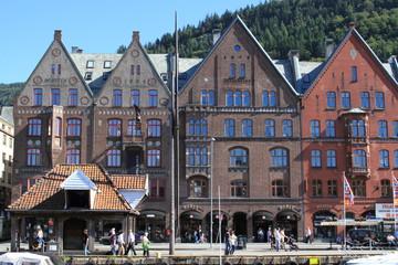 bergen citta della norvegia