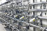 Rohrleitungssystem in Brauerei