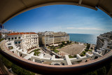 Panoramic view of Aristotelous, Thessaloniki Greece