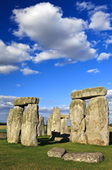 Stonehenge prehistoric stone monument near Salisbury, Wiltshire