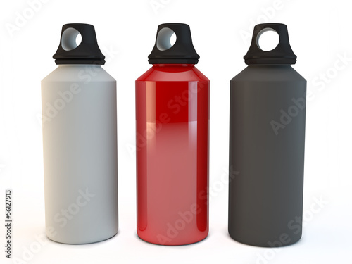 camping or cycling portable drinks bottles