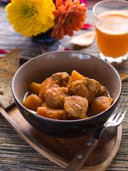 Beef or pork stew