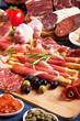 Italian prosciutto