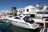 Puerto Banus, the marina of Marbella, Spain