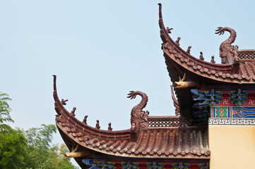 Chinese temple architecture ,eaves