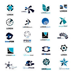 Business Icons Set - Isolated On White Background