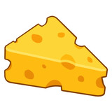 cheese isolated illustration