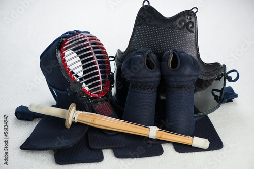 Kendo equipment, horizontal shot