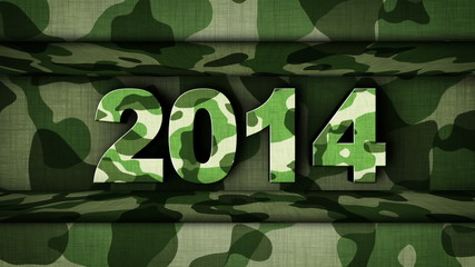 2014 in Military Door (2 Versions)
