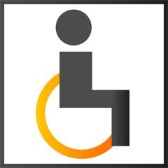 icon Rollstuhl Toilette