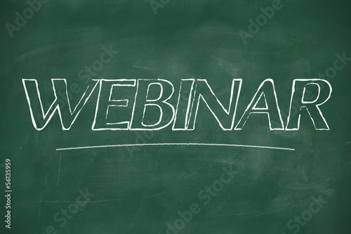 Webinar on blackboard