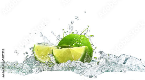lime and water - 56137932