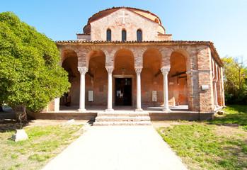 Venice Italy Torcello Cathedral of Santa Maria Assunta