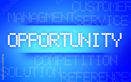 OPPORTUNITY BLUE