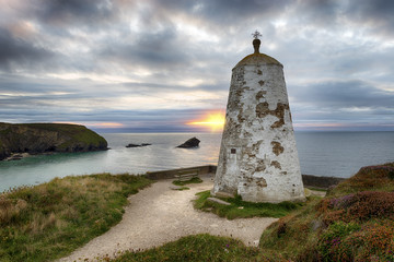 The PepperPot at Portreath in Cornwall