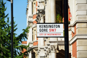 Kensington Gore SW7, City of Westminster