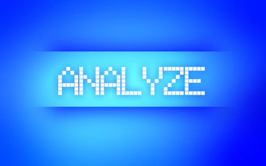 ANALYZE BLUE