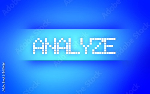 ANALYZE BLUE