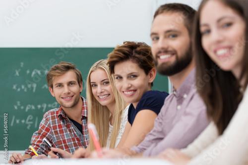 erfolgreiche studenten in der universität