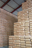 Sweet Wall - Sacks of Sugar in a Warehouse