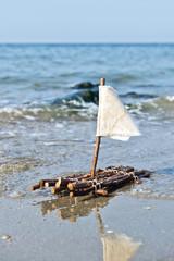 Floss am Meer