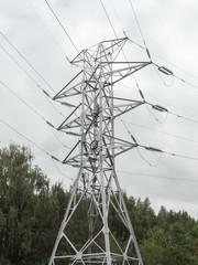 support high-voltage wires