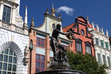 Nettuno, simbolo di Danzica - Polonia