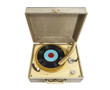 Vintage Little REcord Player isolated