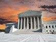 US Supreme Court Sunset Washington DC