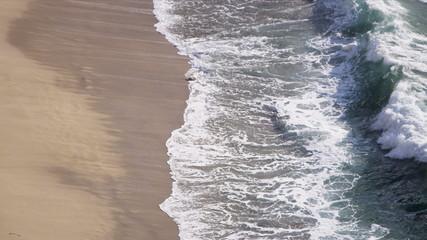 Shallow Aqua Ocean Waves Sand Beach