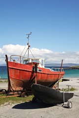 boats in Inisheer