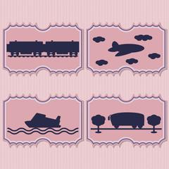 Illustration transport tickets