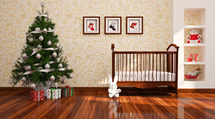 Christams  nursery.