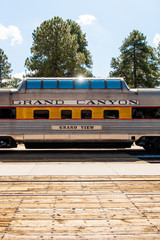 The train of Grand Canyon