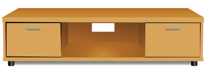Shelf for TV