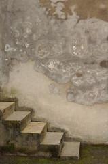 Hintergrund mit Treppe