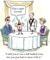Tough wine