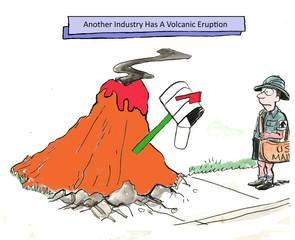 Business eruption