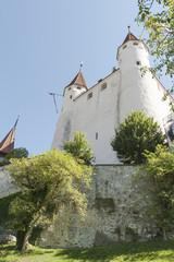 Thun, Schloss Thun, Türme am Schlossberg, Schweiz