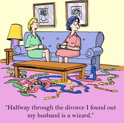 Husband wizard