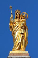 Golden la Vierge Marie Notre Dame de la Victoire Saint-Raphaël