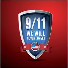 9/11 Patriot Day, 11 września 2001 roku. Never Forget.