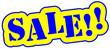 Sale Schild gelb  #130913-svg02