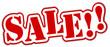Sale Schild rot  #130913-svg01