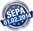"Button Banner ""SEPA"" Europe"
