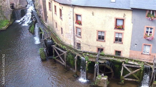 The old water mill still works.